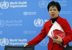 Гендиректор ВОЗ призналась, что еще не сделала прививку от гриппа А/H1N1