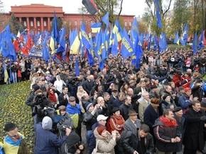 Националисты обвинили власти в антиукраинских действиях