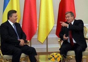 Коморовский не поздравил Януковича с днем рождения