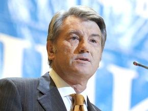 Ющенко требует скрепить подписями договоренности Тимошенко и Путина
