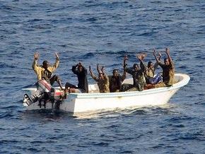 Голландские моряки арестовали 11 сомалийских пиратов