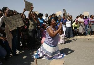 В ЮАР освободят коллег убитых шахтеров