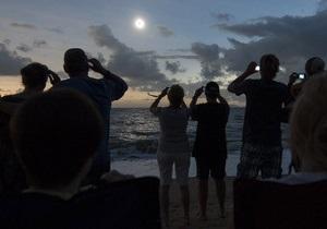 Фотогалерея: Рассвет в тени Луны. Полное солнечное затмение в Австралии