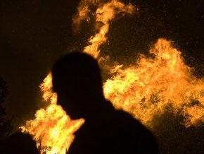 На газораспределительной станции в России прогремел взрыв и начался сильный пожар
