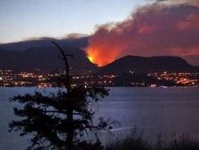 В Канаде бушуют лесные пожары
