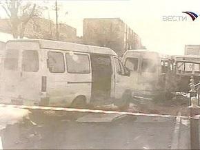 Во Владикавказе взорвалась маршрутка: есть жертвы