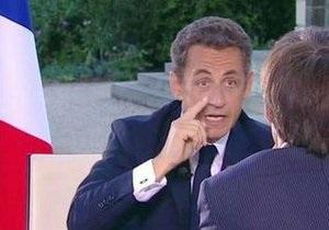 Саркози отверг подозрения в причастности к  делу Бетанкур