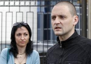 Жена Удальцова рассказала, зачем ездила в Украину