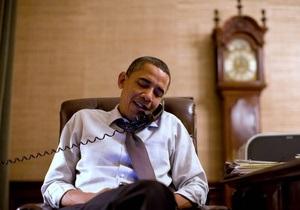 Обама, Саркози, Кэмерон и Меркель обсудили ситуацию в Ливии по телефону