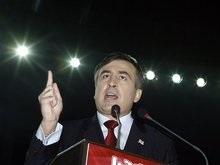Саакашвили потребовал от Москвы прекратить бомбардировки грузинских городов