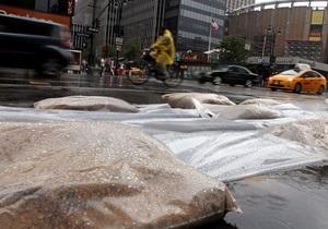 Власти Нью-Йорка: В результате наводнения может затопить Манхэттен