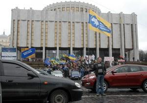 9 мая в Киеве перекроют движение на Европейской площади