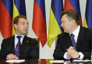 Во время майской встречи Янукович и Медведев поговорят о границе