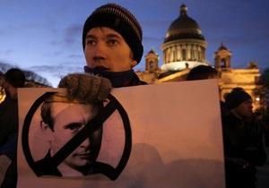 В Санкт-Петербурге оппозиция отменила несанкционированный властями митинг