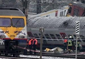СМИ: В Бельгии едва не произошло новое лобовое столкновение поездов
