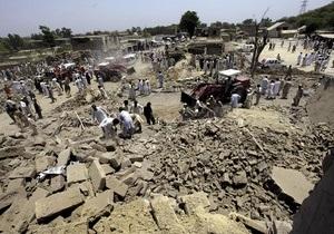 Число жертв теракта в Пакистане достигло 65 человек