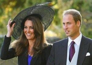В Великобритании выпустили рвотные пакеты к свадьбе принца Уильяма и Кейт Мидлтон