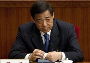 На следующей неделе начнется суд над опальным китайским политиком Бо Силаем