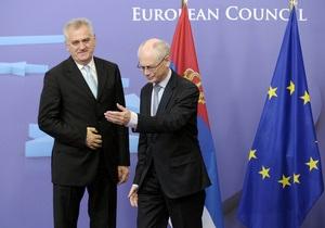 Вступление Сербии в ЕС: переговоры начнут уже в июне