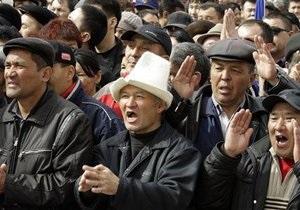 Оппозиция Кыргызстана выдвинула властям ультиматум