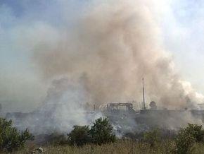 От взрывов на донецких складах пострадал сторож