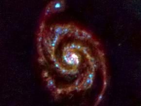 Европейский орбитальный телескоп сфотографировал далекую галактику