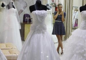 Украинки продают свои свадебные платья в среднем за 3 тыс. грн - исследован