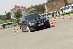 Всеукраинский Subaru Legacy Test-drive стартовал в Хмельницком