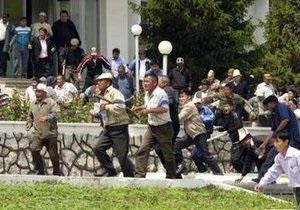 В беспорядках в Оше четыре человека погибли, более полусотни ранены