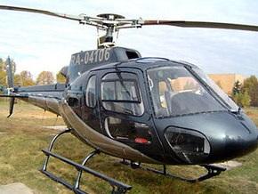 На Прикарпатье упал вертолет: есть погибшие