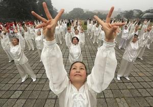 Замедленное движение. Китайское боевое искусство становится популярным видом фитнеса