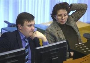 Украинский фондовый рынок падает медленнее европейских