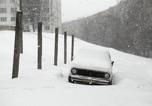 В южных и восточных областях Украины объявлено штормовое предупреждение