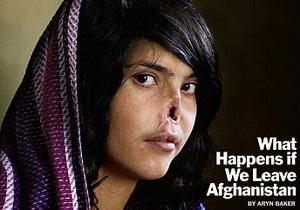 Time разместит на обложке фото афганской девушки с отрезанным носом