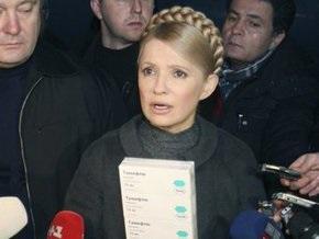 Тимошенко: Всеобщая мобилизация украинцев на борьбу с гриппом дала результаты