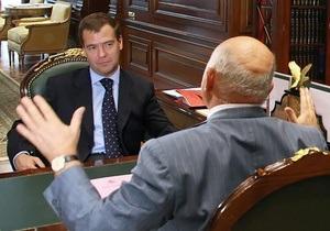 Кремль: Письмо Лужкова Медведеву не могло повлиять на решение президента РФ