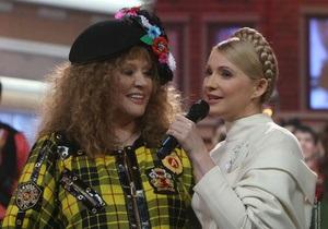 Фотогалерея: Рождественские встречи в Киеве. Примадонна и Тимошенко