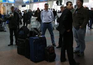 В харьковском аэропорту отменены все рейсы