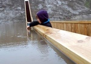 В Нидерландах построили мост ниже уровня воды