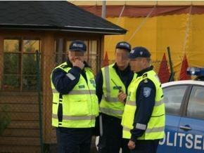 В Эстонии российский дипломат протаранил полицейский автомобиль