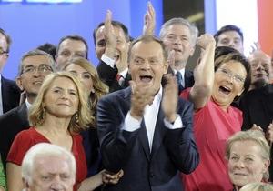 Выборы в Польше: Партия Туска сохранит большинство в парламенте