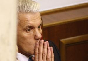 Рада может рассмотреть вопрос об отставке Литвина уже завтра