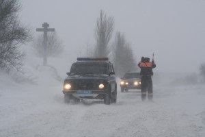 ГАИ предупреждает об ограничении движения транспорта на некоторых дорогах