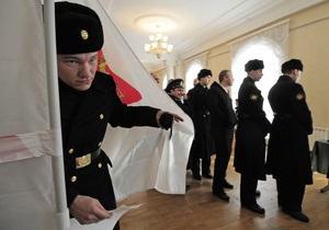 Выборы президента РФ: в Крыму наблюдается очень высокая явка избирателей
