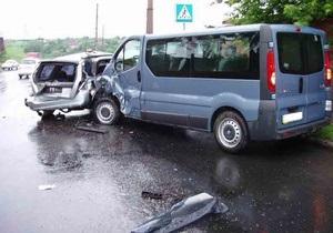 В ДТП в Донецкой области пострадали семь человек, в том числе двое россиян