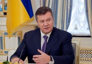Янукович: Украине необходимо решить вопрос донорской трансплантации органов