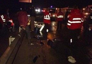 Под Киевом водитель на Жигулях сбил семью