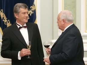 Черномырдин поздравил Ющенко с днем рождения