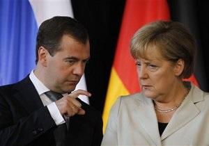 Меркель отвергла предложение Медведева построить третью ветку Северного потока