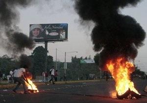 В Никарагуа произошли массовые беспорядки: есть погибшие